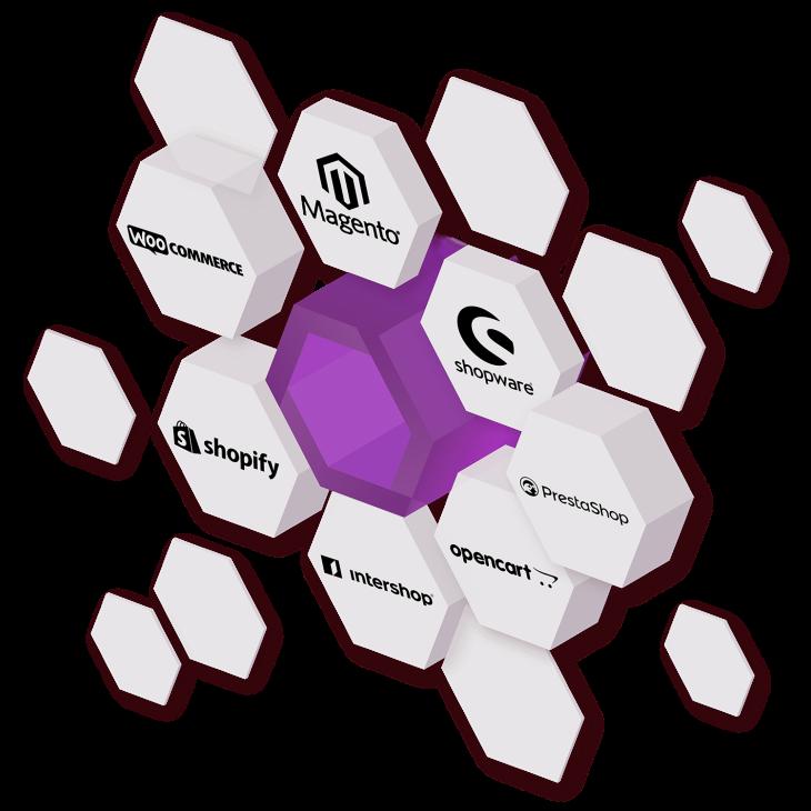 IXOPAY supports Magento, WooCommerce, PrestaShop and Salesforce Commerce Cloud